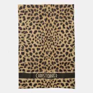 Leopard Skin Pattern Tea Towel