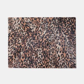 Leopard Skin Print Doormat