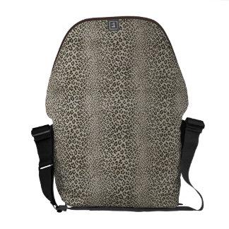 Leopard Skin Print Exotic Animal Courier Bag