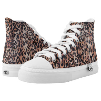 Leopard Skin Print High Tops