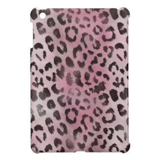 Leopard Skin Print in Pink Rose iPad Mini Cases
