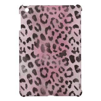 Leopard Skin Print in Pink Rose iPad Mini Covers