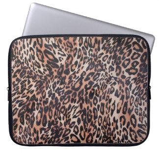 Leopard Skin Print Laptop Computer Sleeve