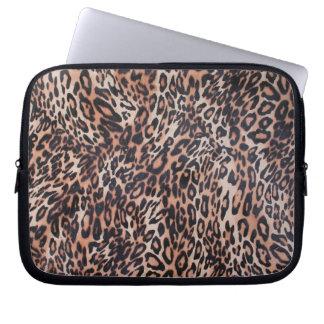 Leopard Skin Print Laptop Computer Sleeves