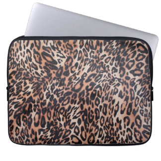 Leopard Skin Print Laptop Sleeve
