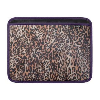 Leopard Skin Print MacBook Sleeve