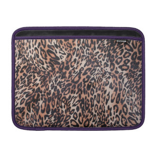 Leopard Skin Print Sleeves For MacBook Air