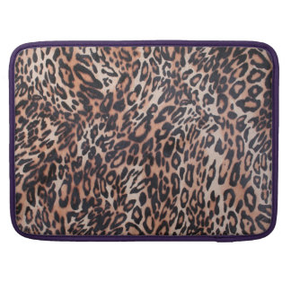 Leopard Skin Sleeve For MacBook Pro
