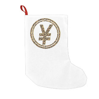 Leopard ¥ small christmas stocking