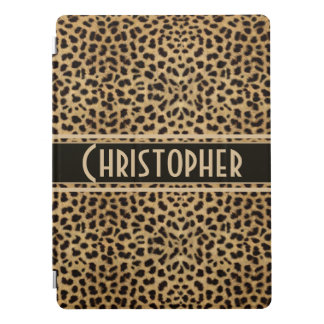 Leopard Spot Skin Design Print Personalised iPad Pro Cover