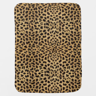 Leopard Spot Skin Receiving Blanket