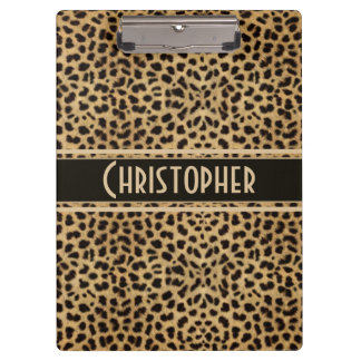 Leopard Spot To Personalize Clipboard