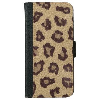Leopard Spots Animal Skin iPhone 6 Wallet Case