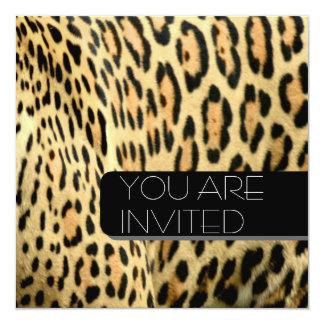 Leopard spots card