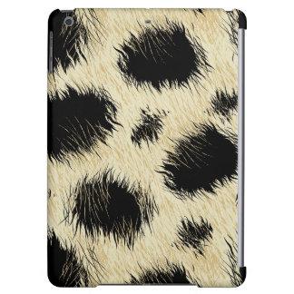 Leopard spots fur