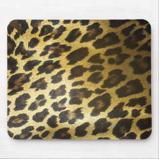 Leopard  Spots Mouse Pad