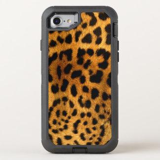 Leopard Spots OtterBox Defender iPhone 8/7 Case