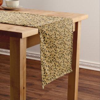Leopard Spots Short Table Runner