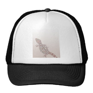 Leopard Spotted Gecko on Sand Mesh Hats