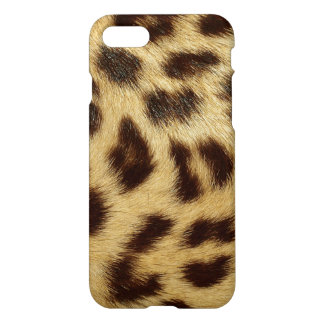 Leopard Spotted Skin Luxury Faux Fur iPhone 8/7 Case