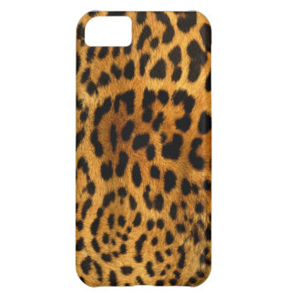 Leopard texture case case for iPhone 5C