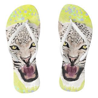 Leopard Thongs