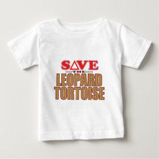 Leopard Tortoise Save Baby T-Shirt