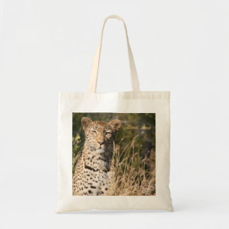 Leopard Tote Bag--Born Free Budget Tote Bag