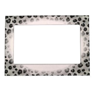 Leopard Wild Cat Welcome Home Destiny Destiny'S Magnetic Picture Frame