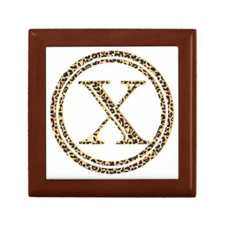 Leopard X Small Square Gift Box