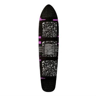 Leopard Zebra Pink Funky Pattern 20.6 Cm Skateboard Deck
