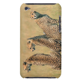 Leopards looking away iPod touch cases