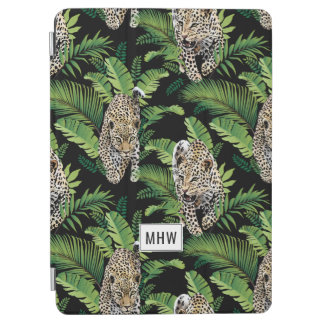 Leopards Pattern custom monogram device covers iPad Air Cover