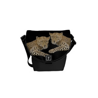 Leopards Purse or small Messenger Bag