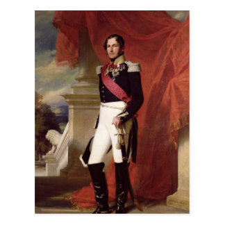 Leopold I  1840 Postcard