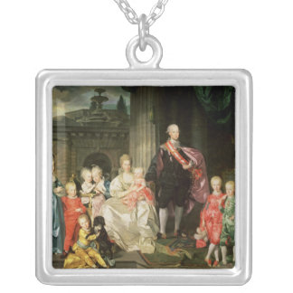Leopold I, Grand-duke of Tuscany Silver Plated Necklace
