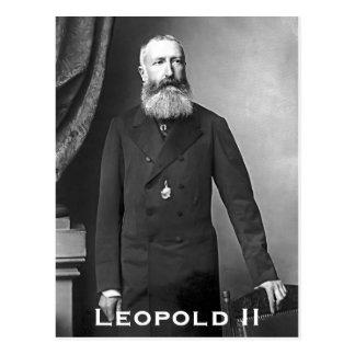 Leopold II van België Postcard