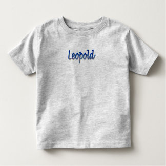 Leopold Toddler Fine Jersey T-Shirt