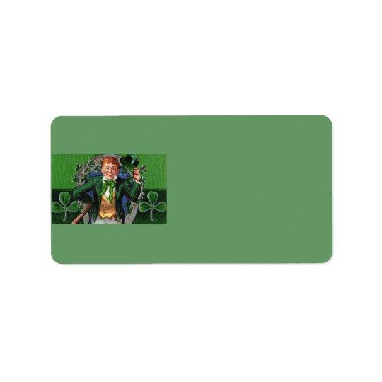 Leprechaun Address Label