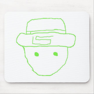 Leprechaun Amateur Sketch Mouse Pad