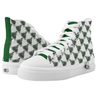 Leprechaun and Pot of Gold Printed Shoes