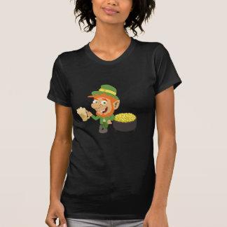 Leprechaun by Pot of Gold T-Shirt