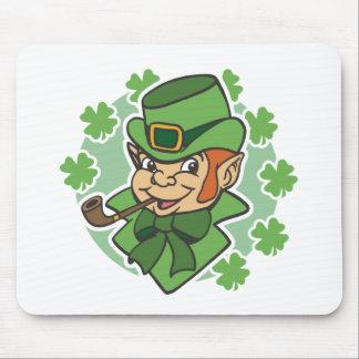 Leprechaun Cartoon St. Patrick's Day Mouse Pad