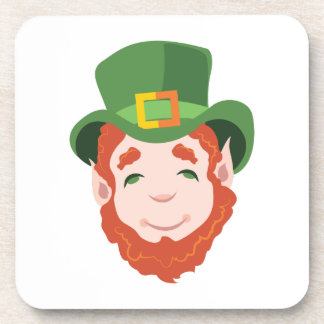 Leprechaun Beverage Coasters