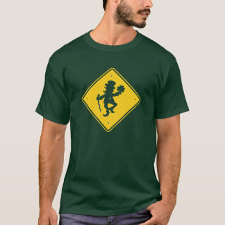 Leprechaun Crossing T-Shirt