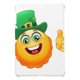leprechaun emoji iPad mini covers