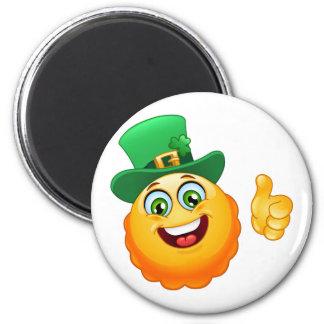 leprechaun emoji magnet