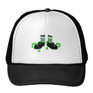 Leprechaun Feet Mesh Hat