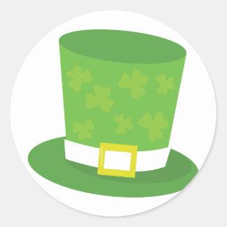 Leprechaun Hat Round Sticker