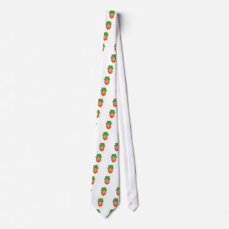 Leprechaun Head Front Drawing Tie